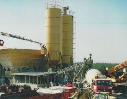 Impianto betonaggio